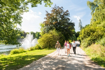 Nordic Walking im Kurpark