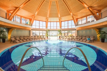 Wellness de luxe in der Larimar-Therme