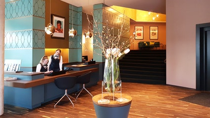 Foyer - The Liberty Hotel Bremerhaven