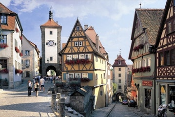Rothenburg ob der Tauber Romantisches Franken